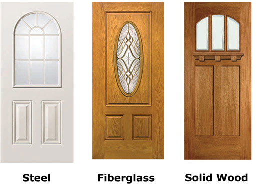 Wood steel fiberglass doors from pella marvin simpson - Steel vs fiberglass exterior door ...