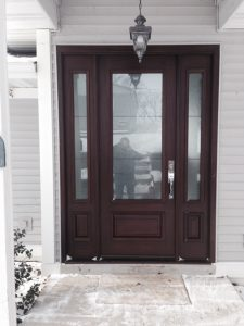 Mahogany Entry Door