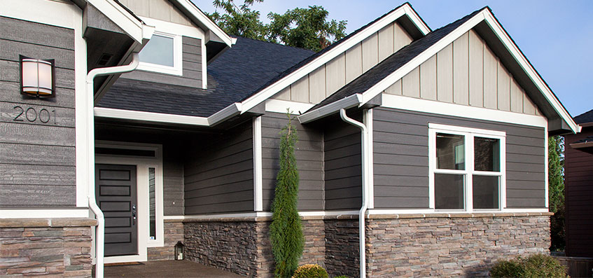 LP Siding Solutions from Home Build