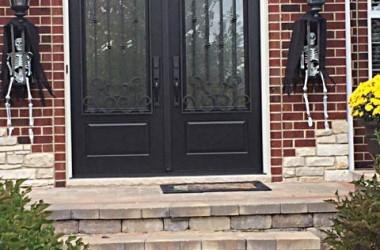 Pella French Entry Door
